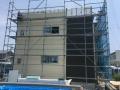 新築3棟目外壁工事