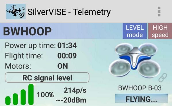 BoldClash BWHOOP B03 Pro レビュー (6):SilverVISEの利用