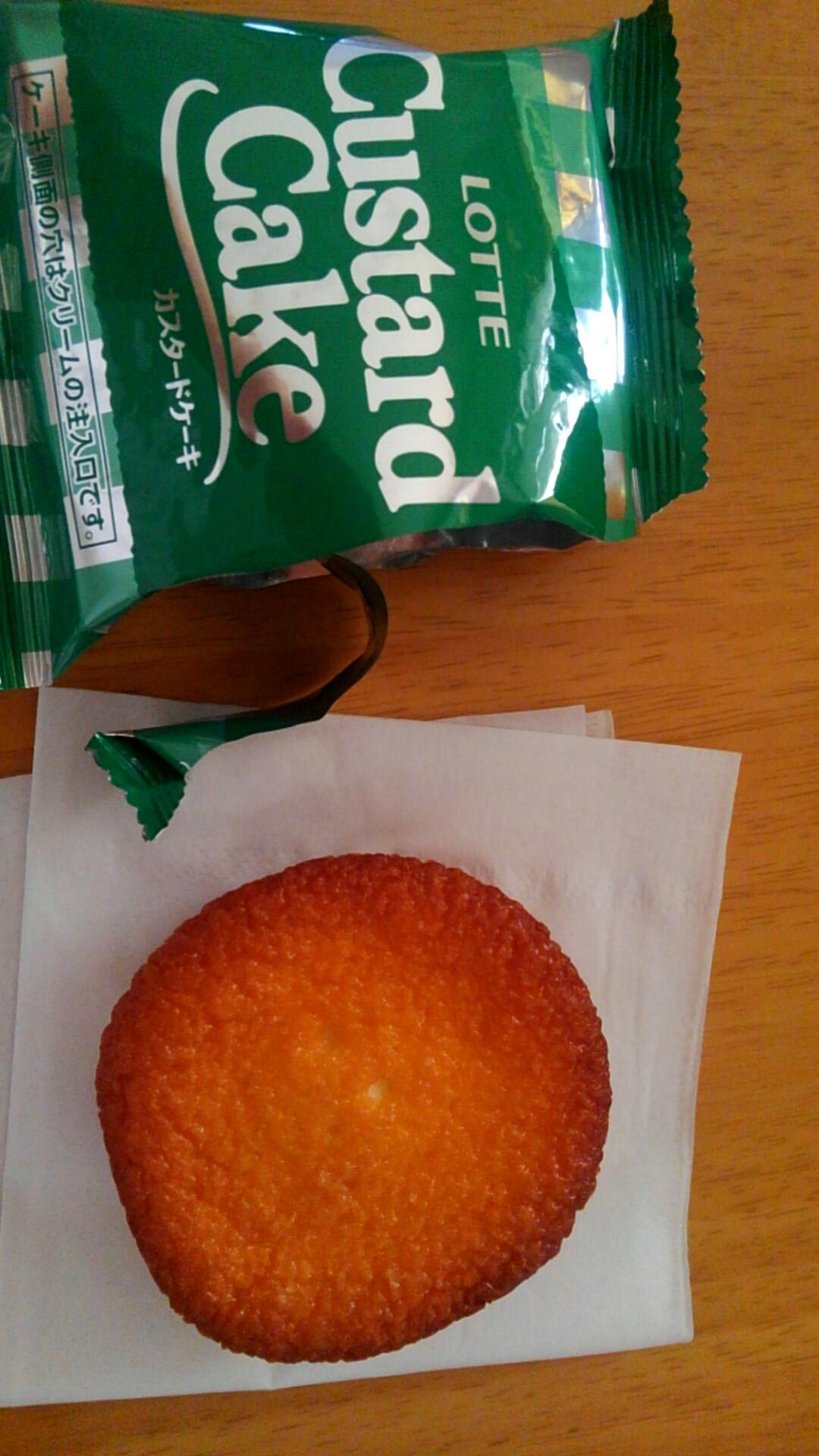 ロッテ カスタードケーキ