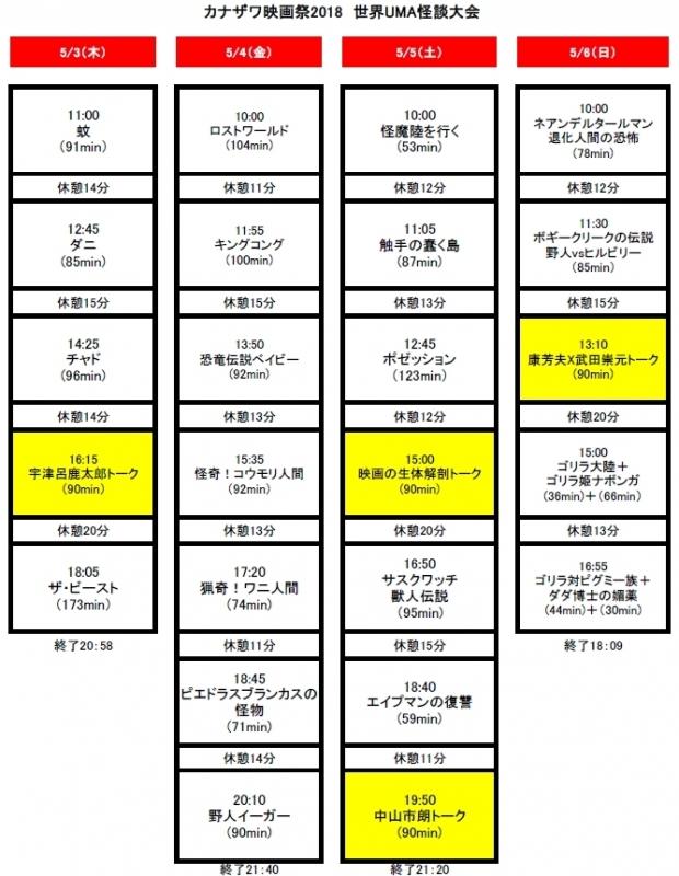 kobe timetable