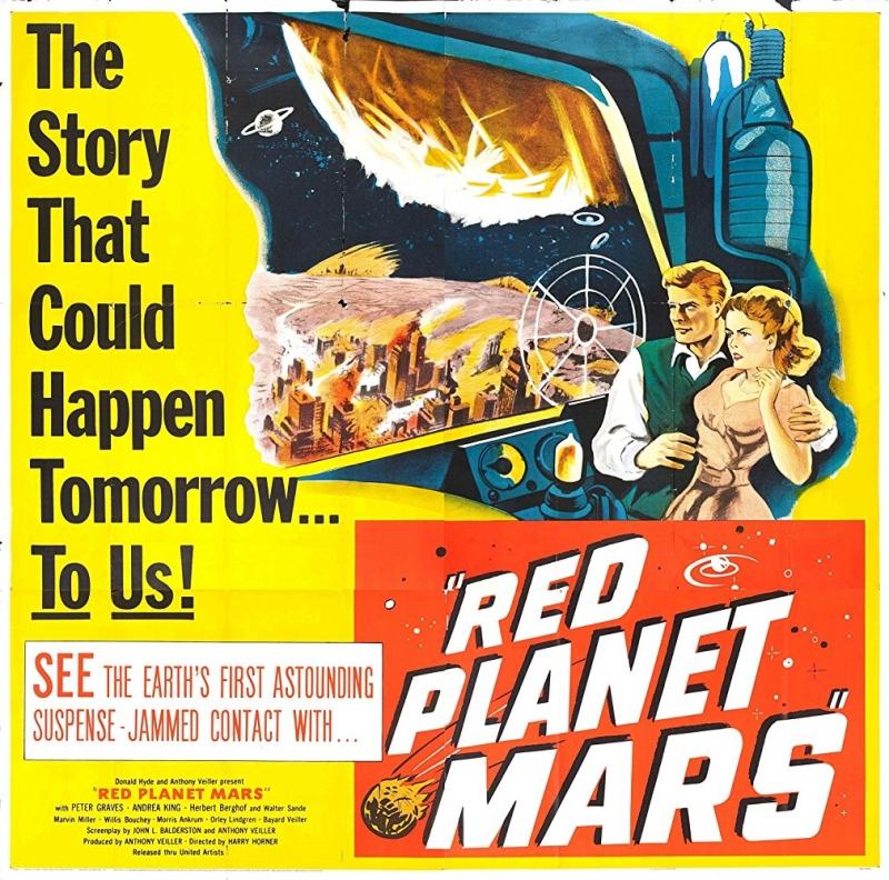 合衆国の恐怖 火星からの伝言
