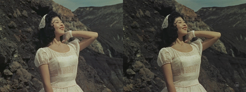 若い女(画面左BD/画面右日専)