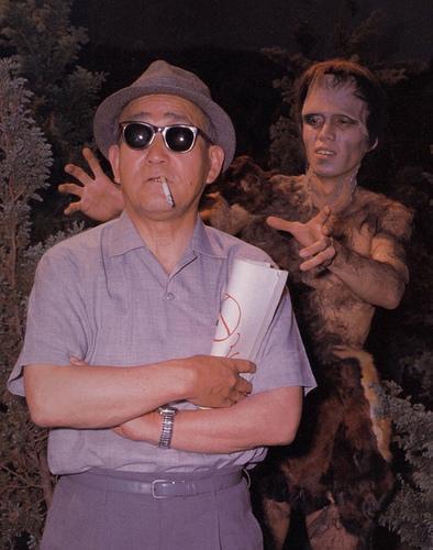 フランケンシュタイン対地底怪獣 フランケンと円谷英二