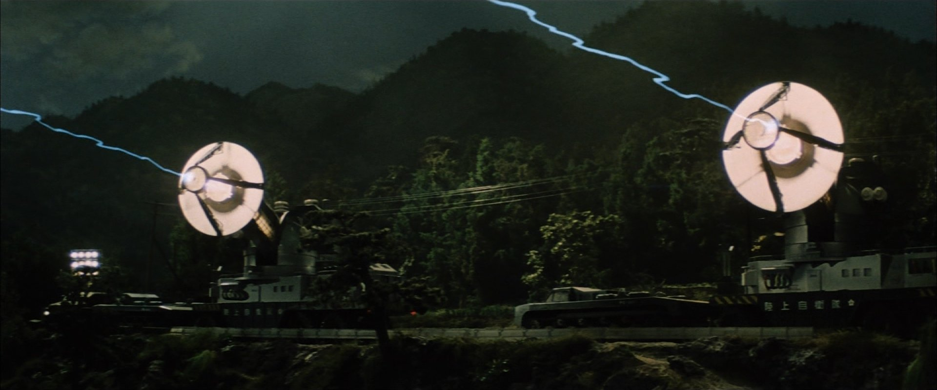 フランケンシュタインの怪獣 サンダ対ガイラ メーサー殺獣光線