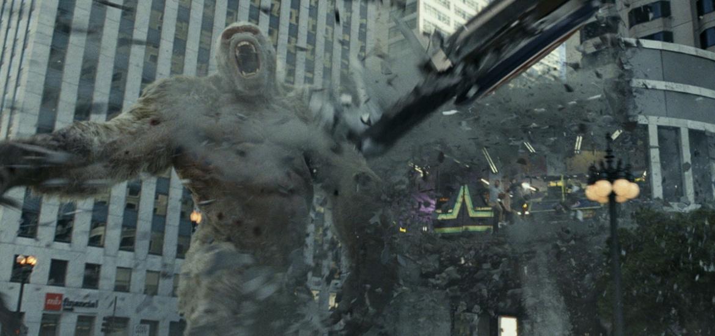 『ランペイジ』都市破壊