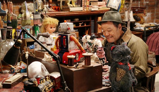『ラブ&ピース』西田&捨てられた玩具・ペット