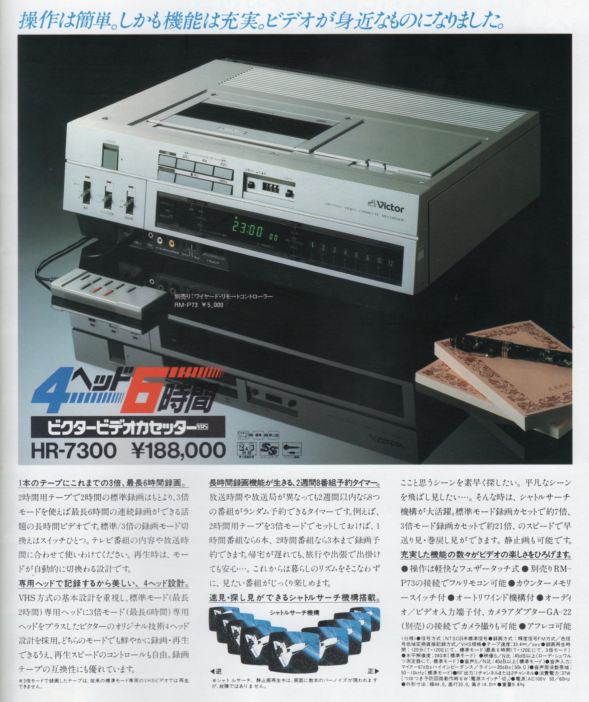 HR-7300 カタログより