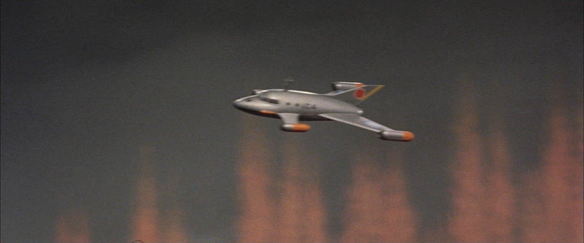 『妖星ゴラス』国連VTOL機