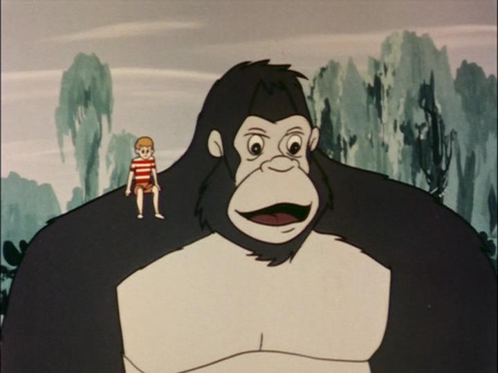 TVアニメ版『キングコング』