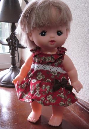 メルちゃんの服 赤