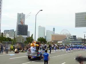 パレード、がんばりました!
