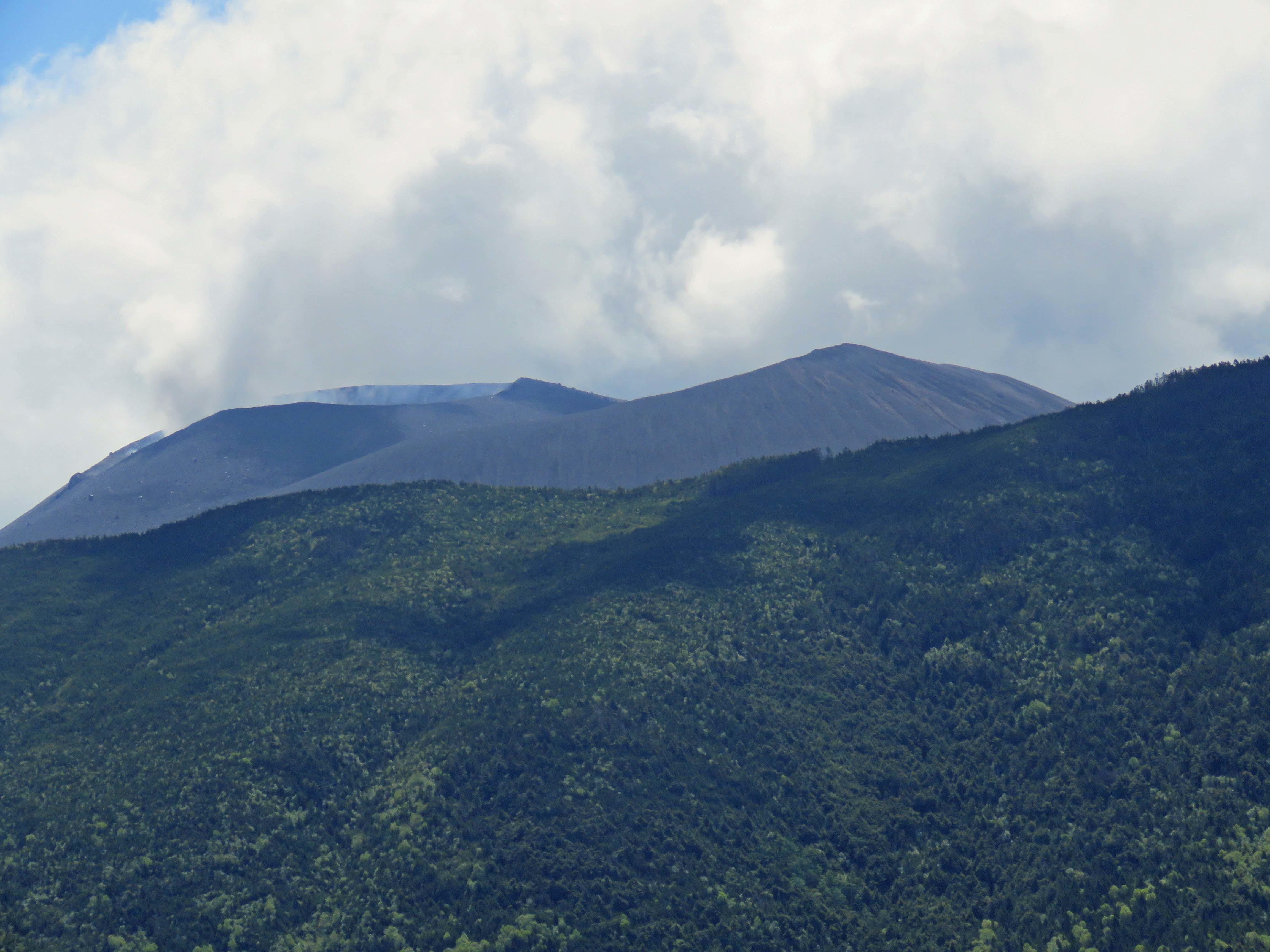 浅間山_180615