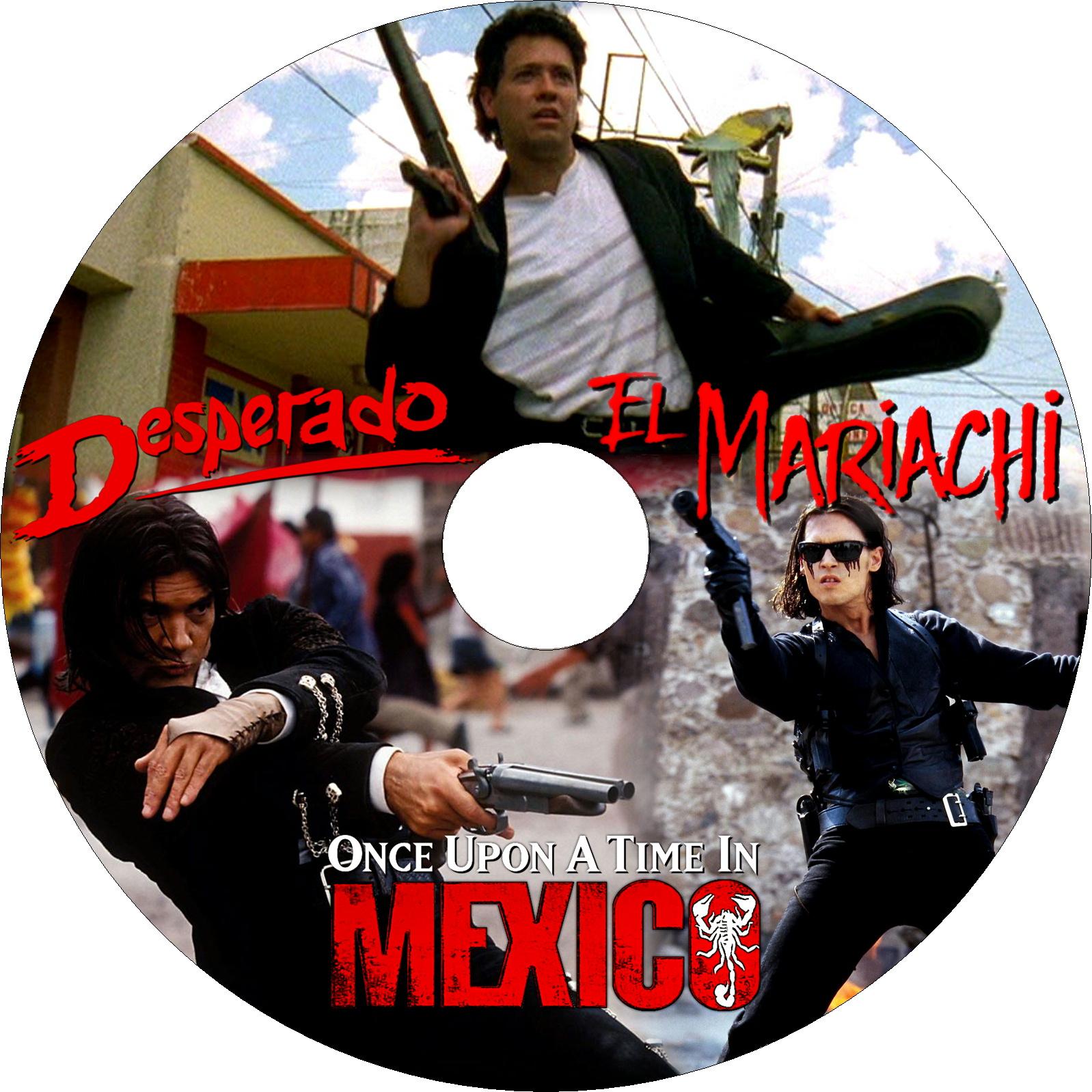エル・マリアッチ&デスペラード&レジェンド・オブ・メキシコ ラベル