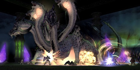FF14 闇の世界 ファイブヘッドドラゴン