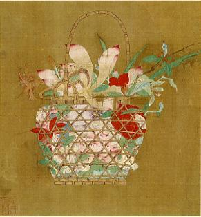 花籠図-銭選-MOA美術館
