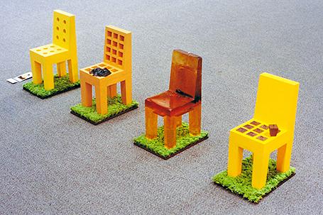 黄色い午後と緑色の芝と紅いお茶 1994
