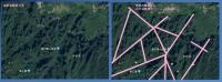 武陵源衛星画像