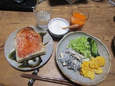 4.27朝食ー1