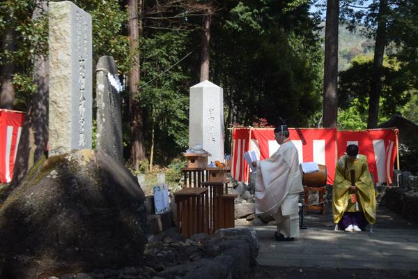 「六所大祭」で祝詞奏上など神事が行われた