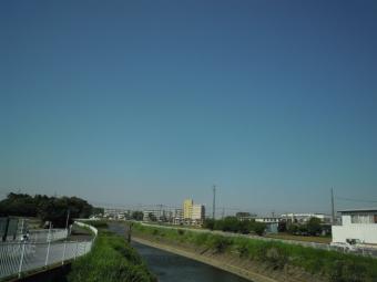長後街道堺川180428