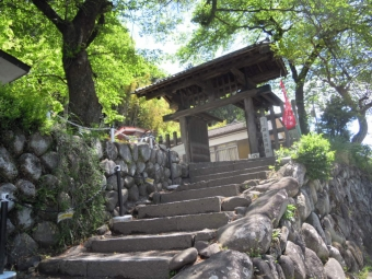 碓井関所跡180504