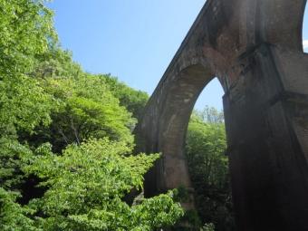 眼鏡橋裏から180504