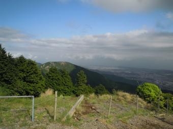 花立山荘から180519