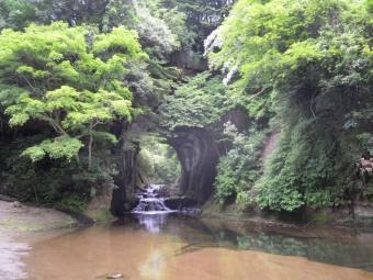 濃溝の滝180528