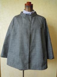 正絹紬のジャケット180623