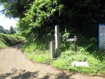 栃窪神社方面に進むb180625