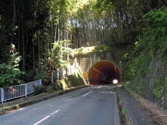峠トンネルと通って180625