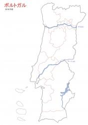 ④ポルトガル VR境界線と川