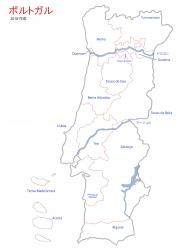 ⑤ポルトガル VR境界線と川とVT名