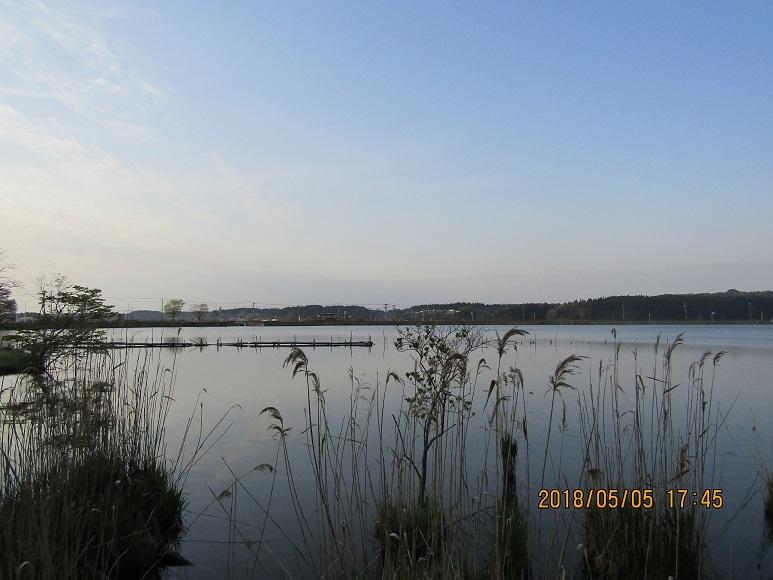 惣三郎公園の夕日3