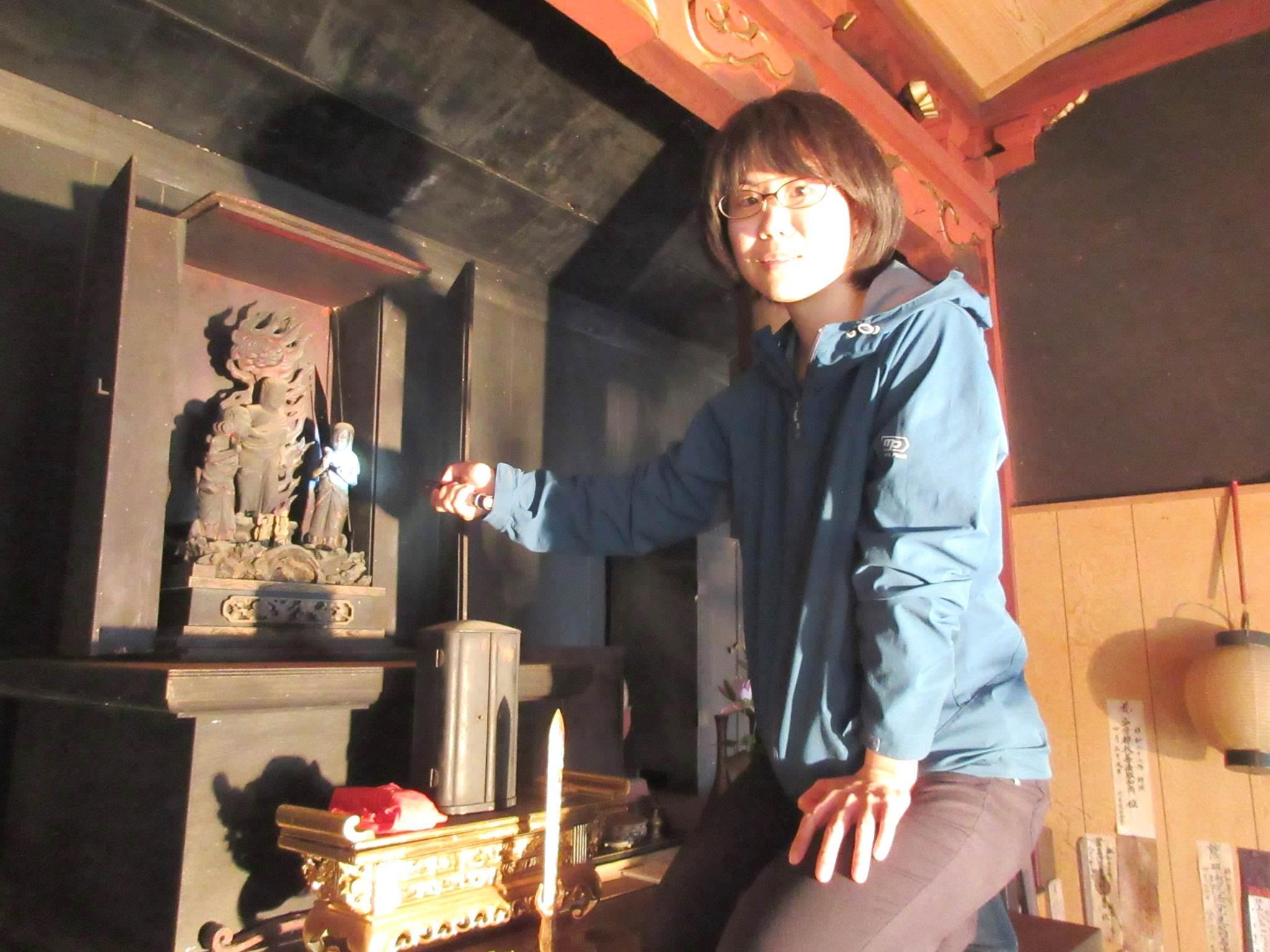 石井さんと仏像