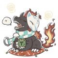 使い魔ティー(茶)_120