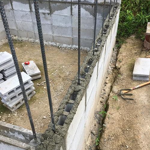 一人で作るブロック小屋③ ~窓の部分をどうするか~②