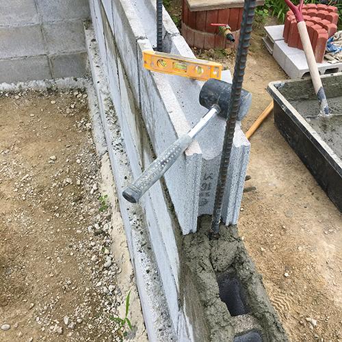 一人で作るブロック小屋③ ~窓の部分をどうするか~③