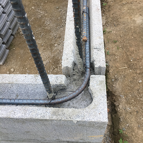 一人で作るブロック小屋③ ~窓の部分をどうするか~⑤