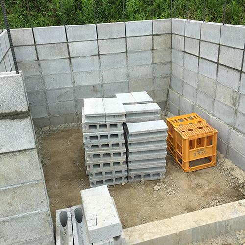 一人で作るブロック小屋③ ~窓の部分をどうするか~⑧