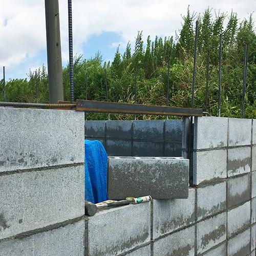 一人で作るブロック小屋③ ~窓の部分をどうするか~⑩