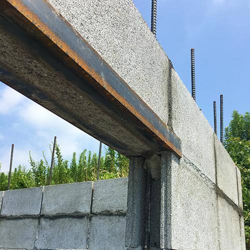 一人で作るブロック小屋③ ~窓の部分をどうするか~⑯