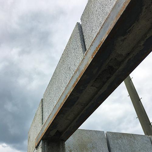 一人で作るブロック小屋④ ~ブロック積み完了~⑧