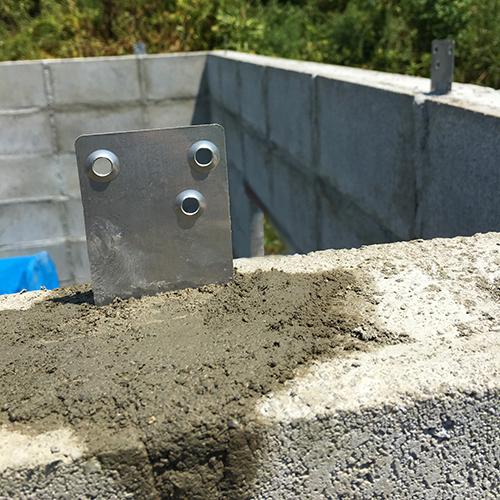 一人で作るブロック小屋④ ~ブロック積み完了~⑪