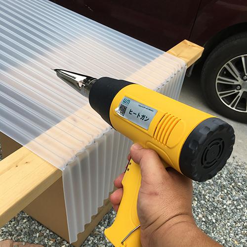 一人で作るブロック小屋⑦ ~屋根の防水~⑤
