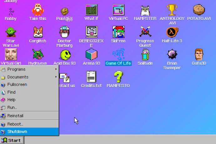Windows93が体験できるサービス9