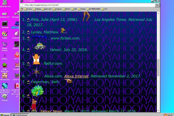 Windows93が体験できるサービス7