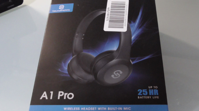 SoundPEATS「A1 Pro」Bluetoothヘッドホン2
