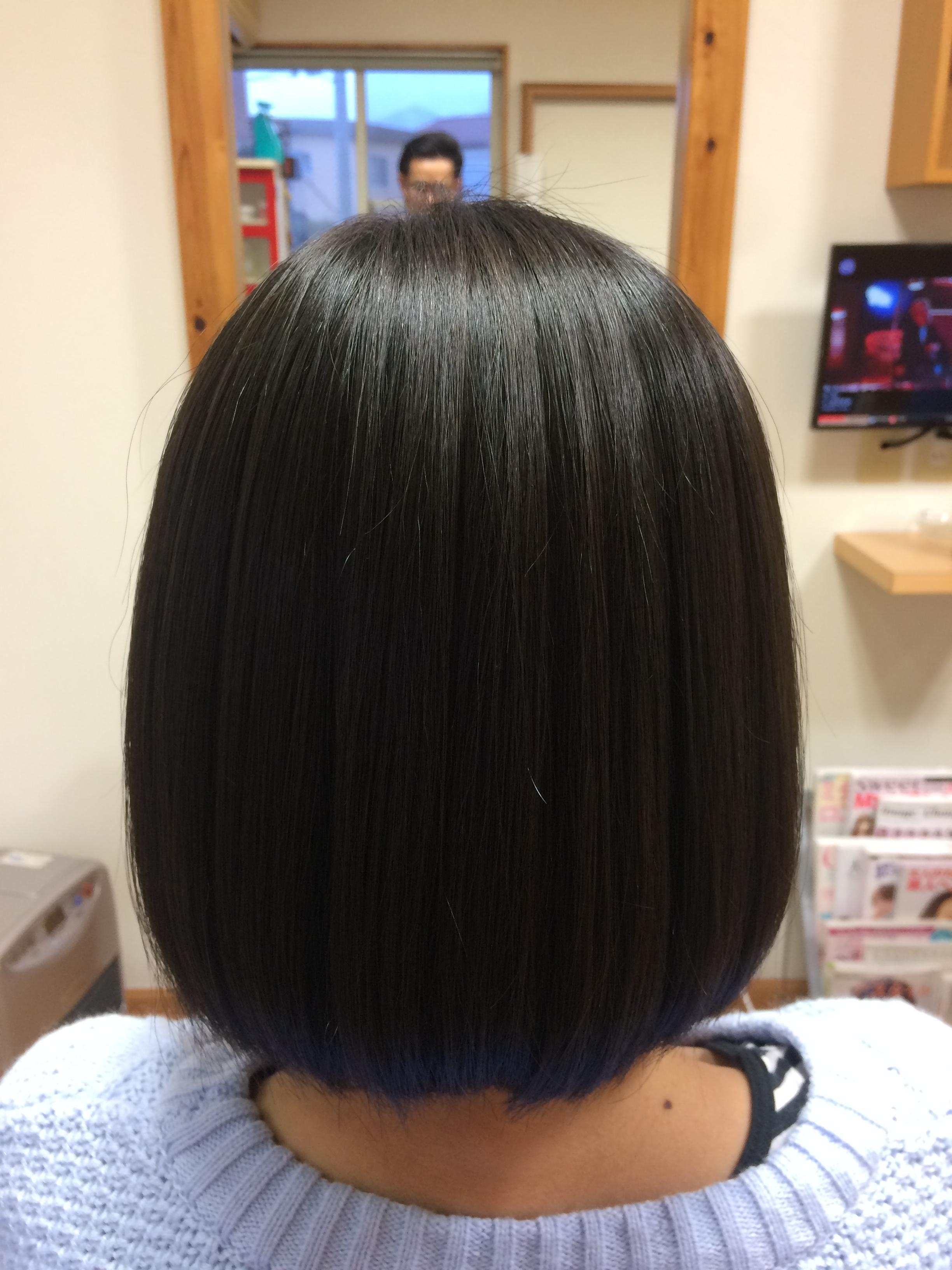 やさしい縮毛矯正で美髪になれる!!