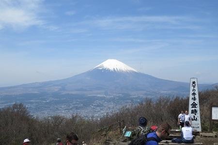 富士山展望金時180412